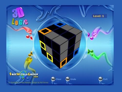 Online hra 3D Logic