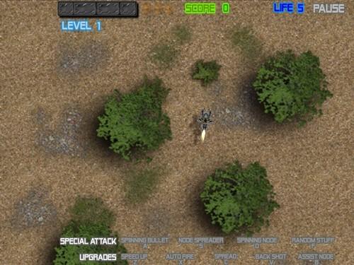 Online hra 3D micro wars