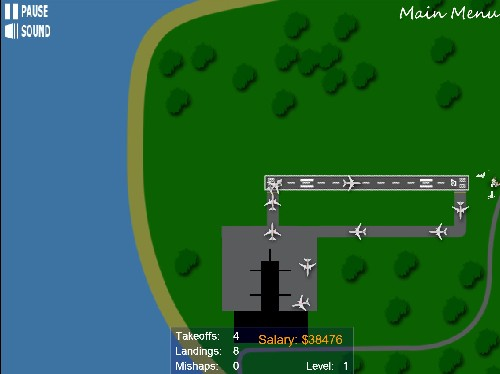Airport Madness 2 online Strategické hry