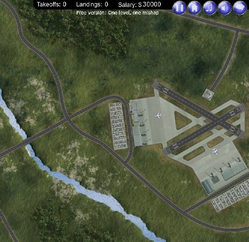 Online hra Airport Madness 3