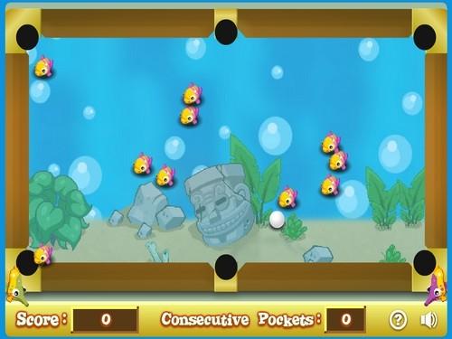 Online hra Aquarium Pool