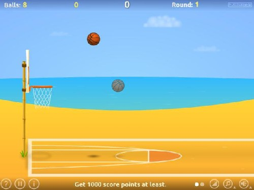 Online hra Basketball