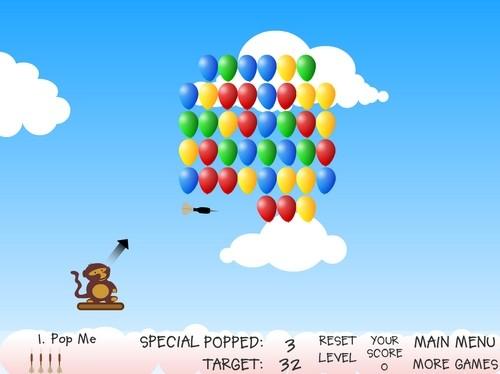 Online hra Bloons