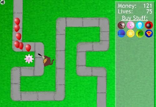 Online hra Bloons Tower Defense 2
