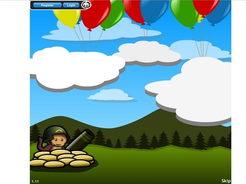 Bloons tower defense 4 online Strategické hry