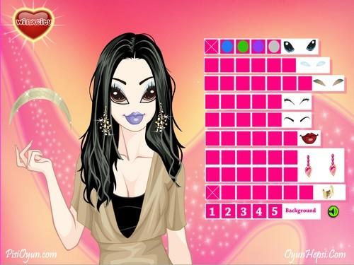 Online hra Bratz makeup
