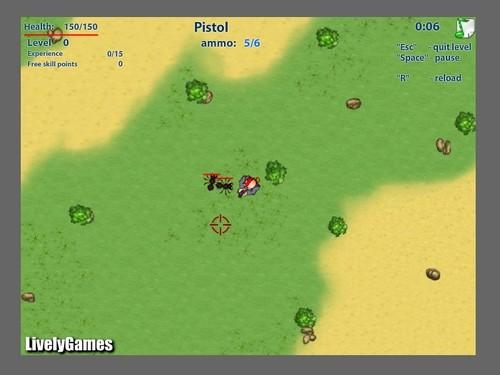 Online hra Bug hunter invasion