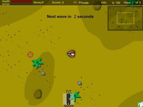 Online hra Bug hunter survival