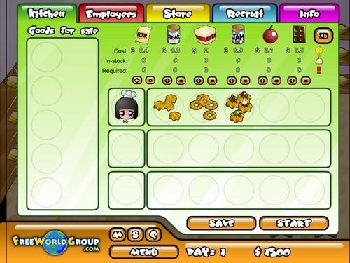 Online hra Cookie Tycoon