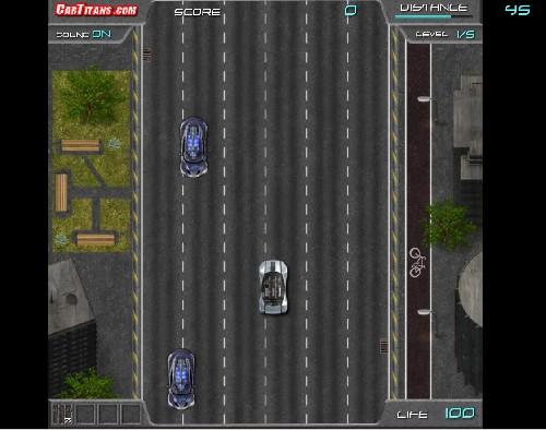Online hra Deus Racer
