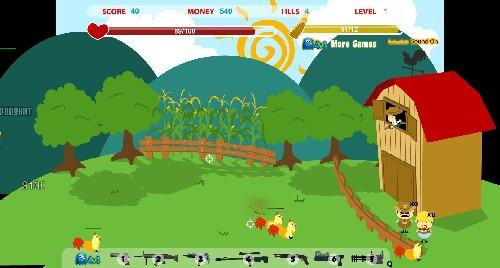 Online hra Farm Wars