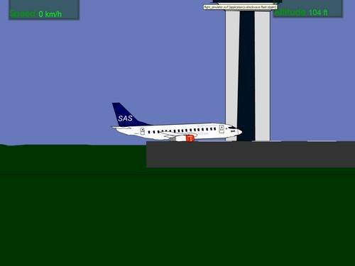 Online hra Flight simulator
