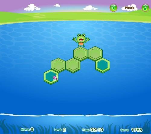 Online hra Frog