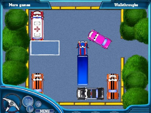Online hra Funny cars