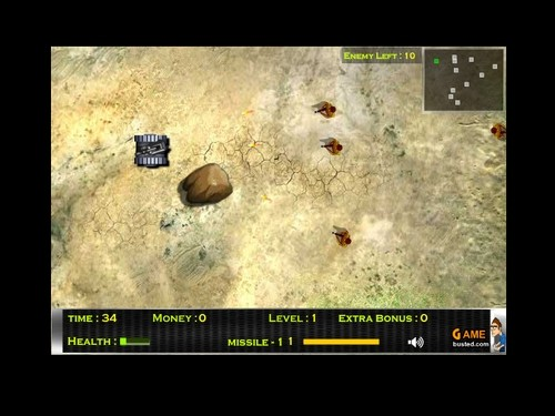 Online hra Furious Tank