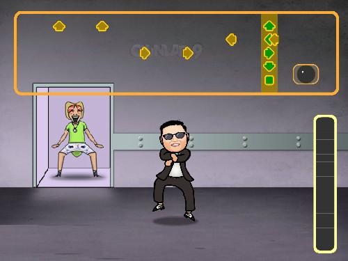 Online hra Gangnam Style