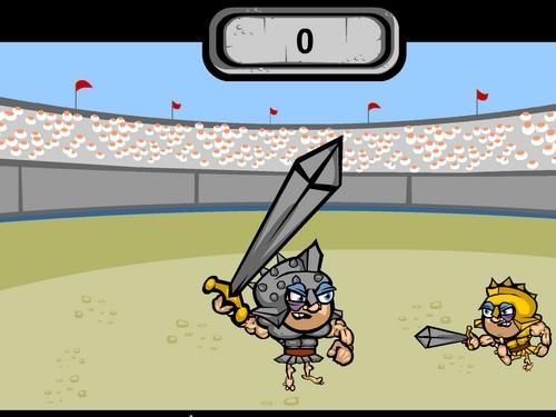 Online hra Gladiátor
