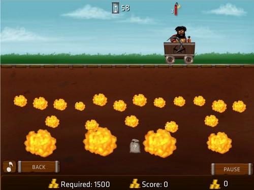 Online hra Gold Rush