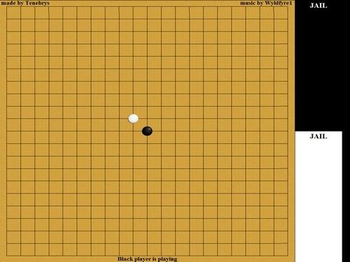 Online hra GoMoKu