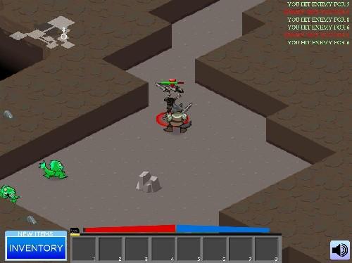 Online hra Hack Slash Crawl