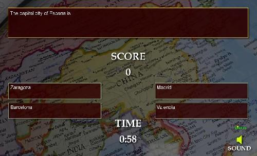 Online hra Hlavní města