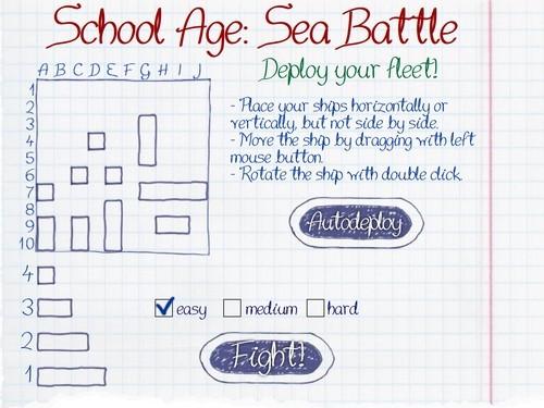 Online hra Hra lodě