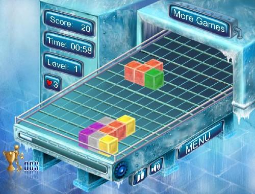 Online hra Ice Block