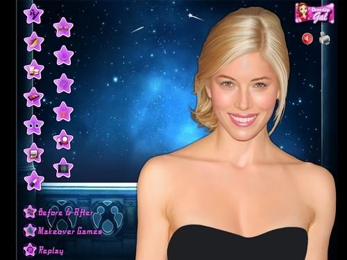 Online hra Jessica Biel