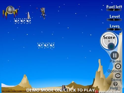 Online hra Jet Pack