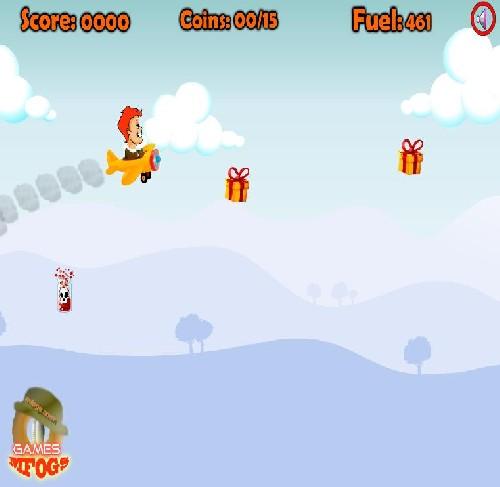 Online hra Letadlo