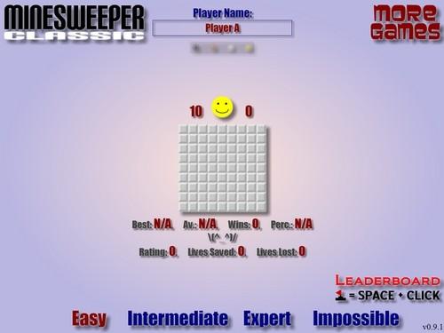 Online hra Mine Sweeper