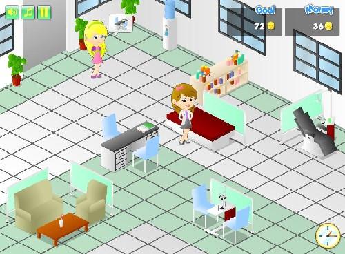Online hra Nemocnice