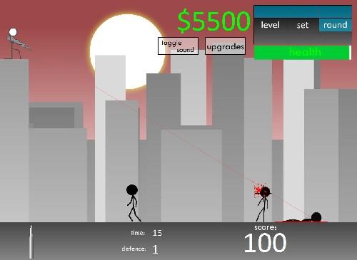 Online hra Odstřelovač