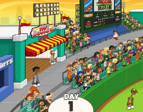 Online hra Papas hot doggeria