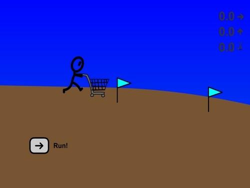 Online hra Shopping Cart Hero