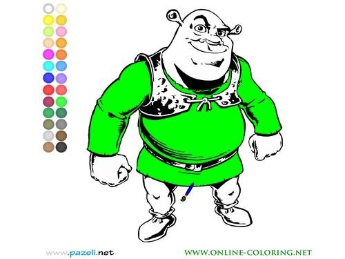 Online hra Shrek