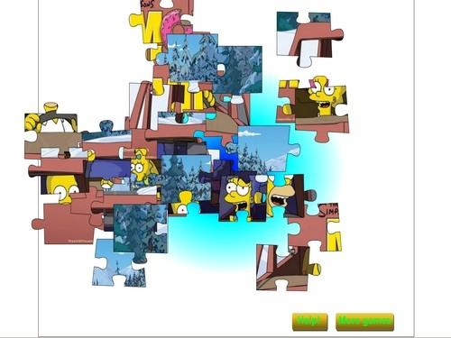 Online hra Simpsonovi