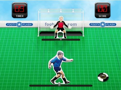 Online hra Slapshot Soccer