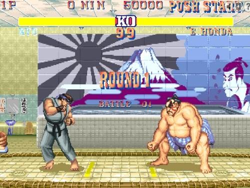 Online hra Street Fighter II