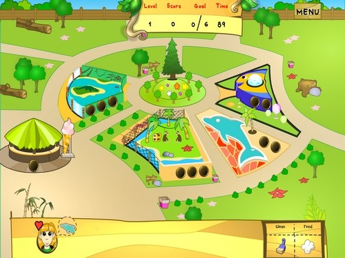 Online hra The Animal Zoo