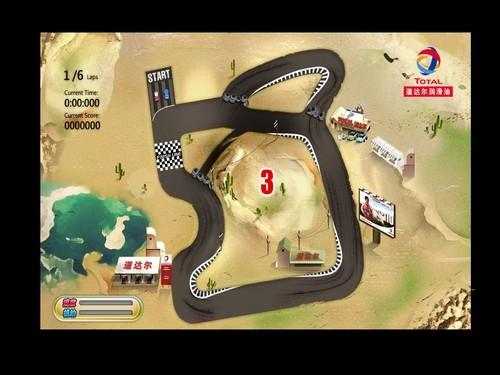 Online hra Total Race