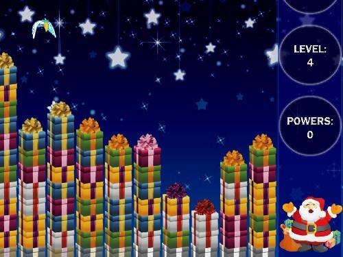 Online hra Vánoční Tetrix