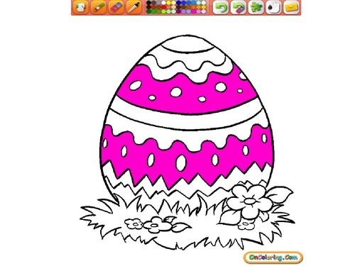 Online hra Velikonoční kraslice