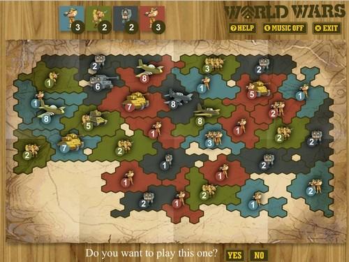 Online hra World Wars