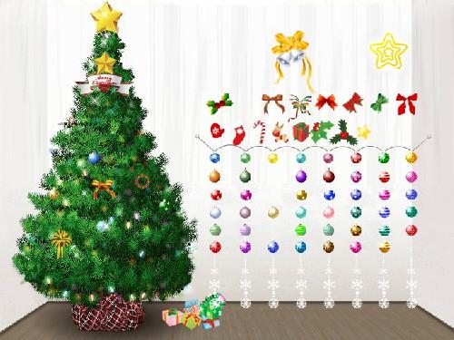 Online hra Zdobení vánočního stromku